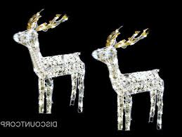 animated outdoor christmas decorations animated lighted glistening deer outdoor christmas decoration new
