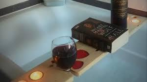 Bathtub Book Tray How To Make A Bath Shelf Caddy Stand U0026 Phone Holder Pallet Wood