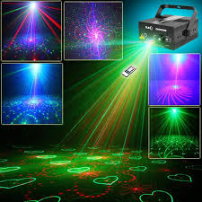 5 lens 80 patterns laser projector light and for disco