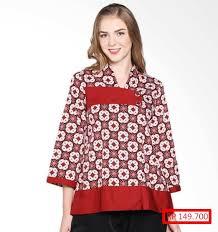 gambar model baju batik modern 23 contoh model baju batik modern dan trendy saat ini model baju