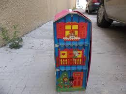 three story houses vtg mattel doll house liddle kiddles 3 three story house loaded