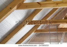 Insulation In Ceiling by Attic Insulation Stock Images Royalty Free Images U0026 Vectors