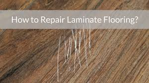 how to repair laminate flooring