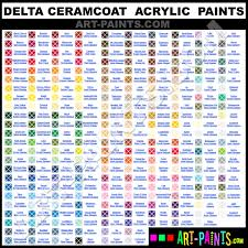 ceramcoat delta acrylic paint colors ceramcoat delta paint