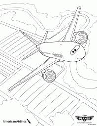 plane coloring pages kids coloring