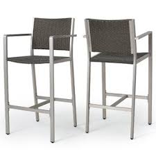 out door bar stools patio barstools joss main