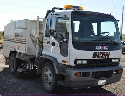 1999 gmc t7500 elgin street sweeper item f2050 sold aug