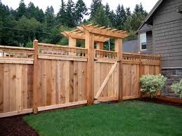 Backyard Privacy Fence Ideas Wood Privacy Fence Designs Fence Ideas