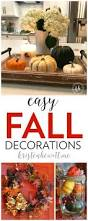 Autumn Decorations Home Easy Fall Decorations Reuse What You Have