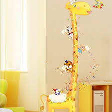 removable kids height measurement growth chart wall stickers package contents 1 x sticker