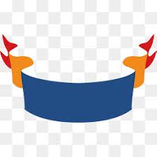 blue and gold ribbon wave gold ribbon title box vector png ribbon wave ribbon png