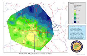 Iso Map Rainfall Data Maricopa County Az