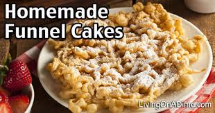 homemade funnel cakes recipe carnival yumminess for a lot less money