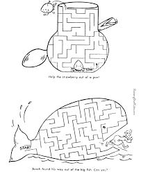 mazes printable activities 001