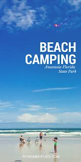 Anastasia State Park Map by Beach Camping At Anastasia State Park My Mommy Flies