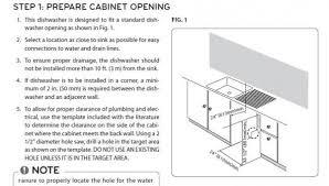 Dishwasher Size Opening Lg Dishwasher Won U0027t Completely Drain Doityourself Com Community