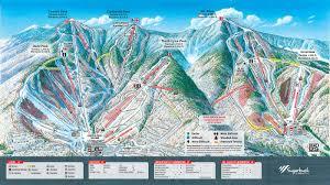 Rocky Mountain Range Map Sugarbush Trail Map