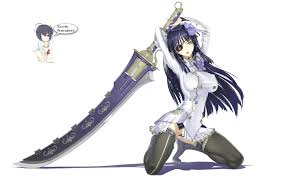 anime wallpapers girls sword fighting anime girl with sword render by iamecchi on deviantart