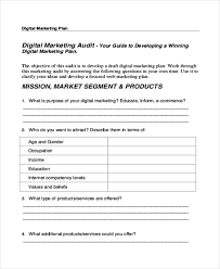 30 marketing plan templates in pdf free u0026 premium templates