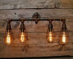 the brilliant and interesting rustic bathroom vanity lights with