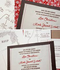 Cute Wedding Programs Rashawn U0027s Blog Sewn Wedding Invitations Bird And Banner Cute