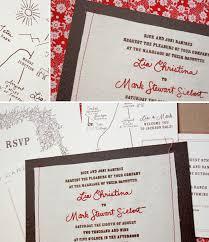Unique Wedding Programs Ronenia U0027s Blog Sewn Wedding Invitations Bird And Banner Cute