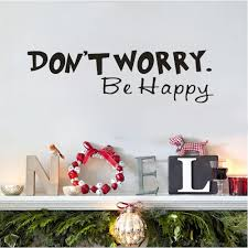 compare prices on creative landscaper online shopping buy low creative don not worry be happy vinyl wall decal home decor wall sticker household living room