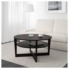 Ikea Side Table Coffee Tables Breathtaking Vejmon Coffee Table Black Brown Ikea