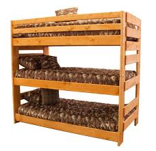 Trendwood Bunkhouse Triple Bunk Bed Boulevard Home Furnishings - Trendwood bunk beds