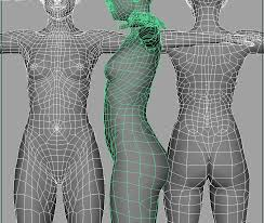 Female Body Reference For 3d Modelling Realistic Face Modeling And Topology Creating Believable Human