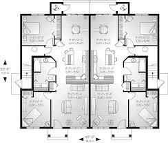 Multi Family House Plans Triplex Lehigh Multi Family Fourplex Plan 032d 0591 House Plans And More