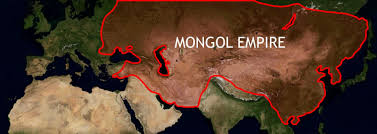 Mongolian Empire Map A Classic A Day The Great Bell Of Beijing