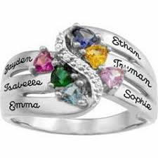 mothers ring 6 stones 8 best s ring ideas images on rings