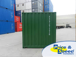 20ft general purpose new build shipping container green price