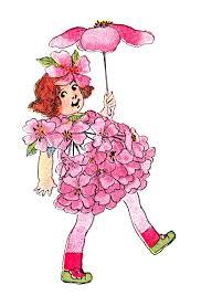 free vintage clip art flower fairies for spring flower fairies