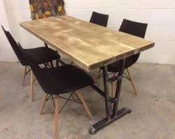 Industrial Dining Table Epic Industrial Dining Table About Home Decor Interior Design With