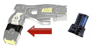 cartridges taser gun taser x26c battery with extra cartridge clip