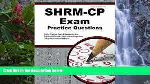 read online shrm exam secrets test prep team shrm cp exam practice