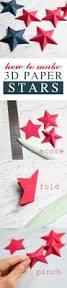 patriotic wall art canvas paper stars 3d paper and super easy