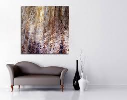 Modern Abstract Art Interior Decor Options With Large Canvas Art - Modern art interior design