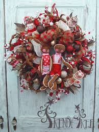 gingerbread christmas wreath tutorial trendy tree blog holiday