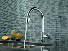 Touch Free Kitchen Faucets by Faucet Com 9159 Dst Sd In Chrome By Delta