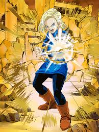 z android 18 rage of android 18 future z dokkan