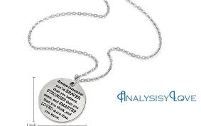 inspirational jewelry gifts inspirational jewelry necklace gift for women by analysisylove