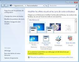 changer l image du bureau interdire le changement de l arrière plan du bureau sous windows 7