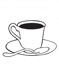 tea cup coloring sheets