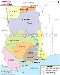 Africa Countries Map Quiz by Where Is Ghana Location Of Ghana