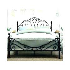 Wood And Iron Bed Frames Wrought Iron Bed Frames Size Bed Frame Ikea Uforia