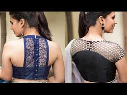pattern of net blouse awesome back designer net blouse patterns youtube