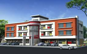 Residential Building Elevation by Exterior Elevation Design Gharexpert House Elevation Designs Home
